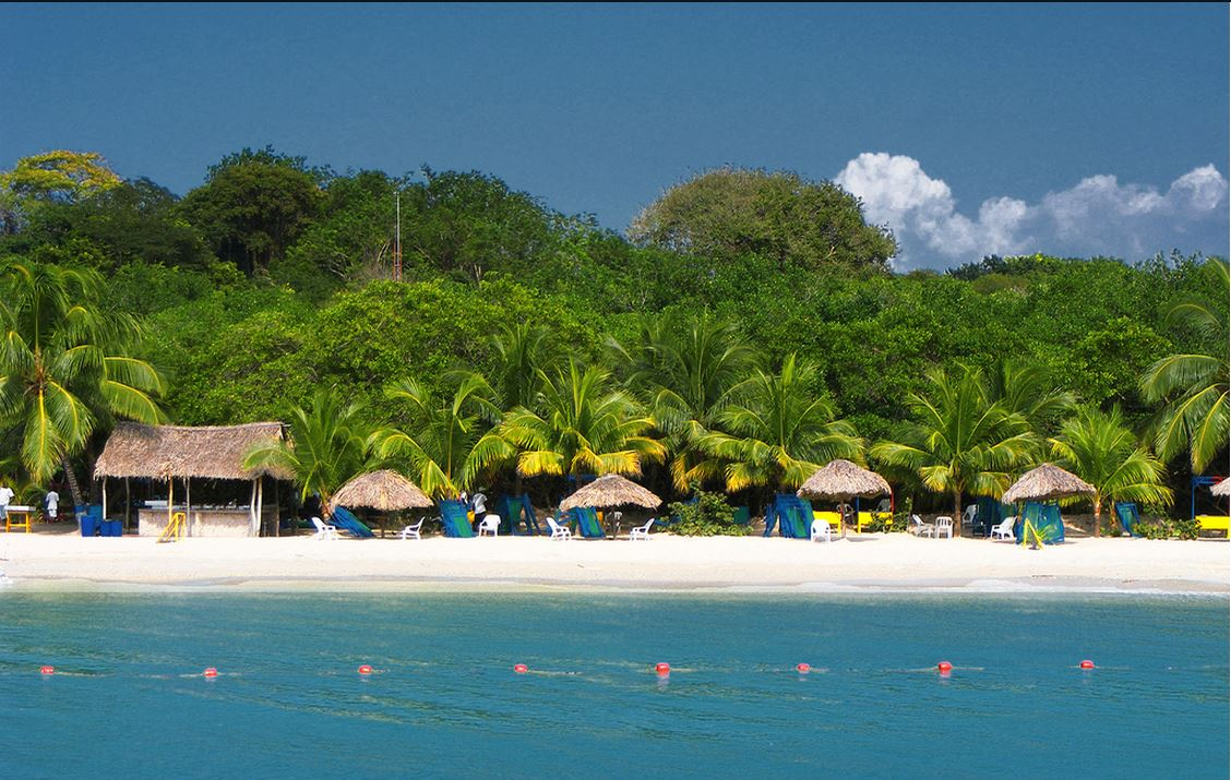 isla colombia:
