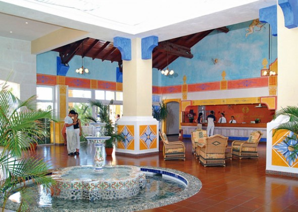 hotel Sol Cayo Guillermo, lobby