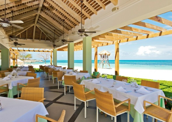Iberostar Grand Hotel Rose Hall, restaurante buffet de playa
