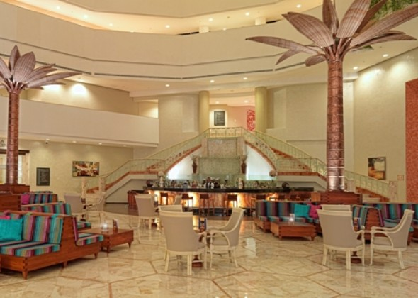 Hotel Iberostar Cancun, lobby bar
