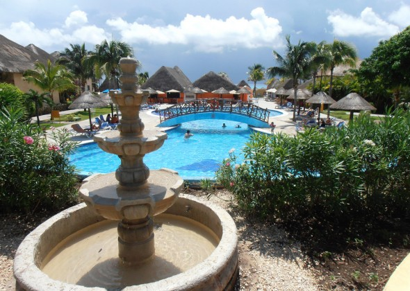 hotel Occidental Allegro Playacar, piscina
