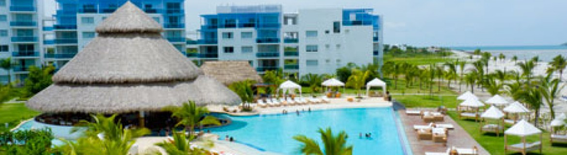 hotel Wyndham Grand Playa Blanca, vista general