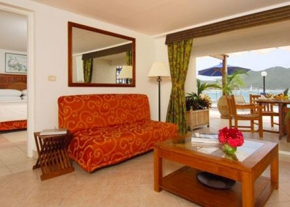 Hotal Sonesta Great Bay, suite